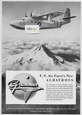 GRUMMAN AIRCRAFT NEW SA-16 ALBATROSS FOR THE U.S.AIR FORCE 1950 AD