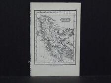 Miniature Map, c. 1850 #19 Greece