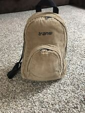 Jansport Vintage Rare Half Pint Mini Small Corduroy Backpack Bag