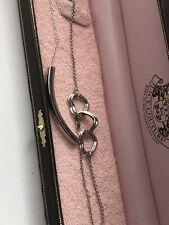 Set Of 2 Juicy Couture Bracelets Hearts Original Box