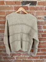 NEXT WOMENS CHUNKY KNIT CREAM WITH GOLD JUMPER SIZE: S, M, L, XL  BNWT RRP £28