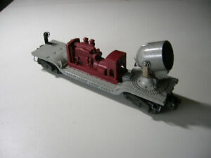 Lionel Lines Searchlight train car 6520 maroon GM generator