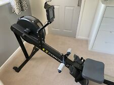 Concept2 Model D Indoor Rower with PM5, Black. Fitted With oarsome Hand Grips.