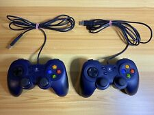 Lot Of (2) Logitech F310 Dual Analog Sticks USB Gamepad Controller 840-000058