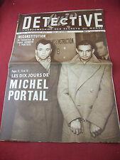 Qui ? Détective N°337 15 Décembre 1952 Assassinat Grimbert à Pointoise M Portail