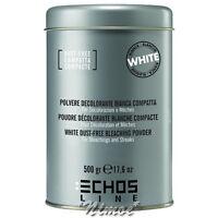 White Dust-free Bleaching Powder 500gr Echos Line ® Polvere Decolorante Bianca