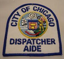 "Chicago Police Shoulder Patch""Dispatcher Aide"""