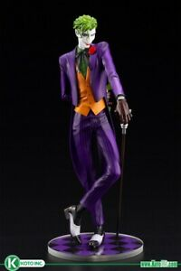 Kotobukiya DC Comics Joker Ikemen PVC Statue Brand New and In Stock