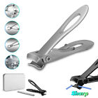 Nail Clippers For Seniors Toe Thick Hard Nails Large Cutter Heavy Duty Stainless