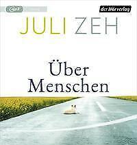 """Juli Zeh """"Über Menschen"""",1 mp3-CD,ungekürzt,neu,OVP,ohne Porto"""