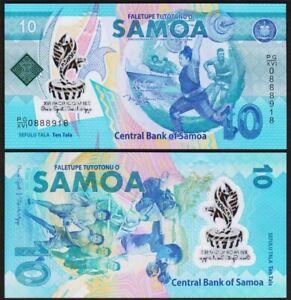10 TALA 2019 SAMOA [UNC / NEUF] P45 - XVI Pacific Games - polymer