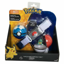 New Tomy Pokemon Clip 'N' Carry Poke Ball Belt - Squirtle- Kids Toys