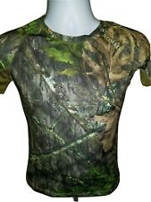 Women's NOMAD Mossy Oak Obsession Camo Turkey Hunting NWTF Cooling Shirt S NEW