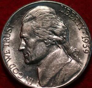 Uncirculated 1939-S San Francisco Mint Jefferson Nickel