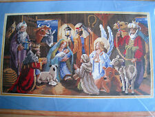Bucilla Christmas Needlepoint PICTURE Craft Kit,NATIVITY,Baby Jesus,60735,Rossi