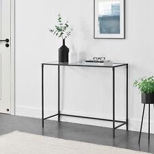 Konsolentisch Konsole Flurtisch Beistelltisch Wandtisch 100x35x80cm Schwarz