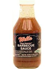 Wells Hog Heaven Barbecue Sauce 18 oz