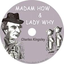 Madam How and Lady Why, Charles Kingsley Homeschool Answers Audiobook 8 Audio CD