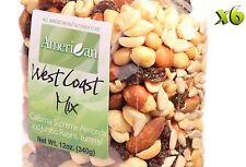 72 Oz Gourmet Style Bags of West Coast Supreme Almonds&Raisins Mix [4 1/2 lbs.]