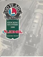 [27408] 1990 LIONEL ELECTRIC TRAINS & ACCESSORIES STOCKING STUFFERS PRICE GUIDE