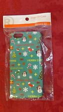 "RADIO SHACK SNAP-ON CASE iPHONE 6 4.7"" MERRY CHRISTMAS HOLIDAY 040293964856"