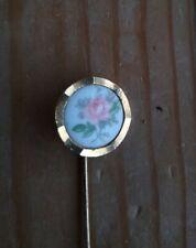 Vintage Floral Hat Pin