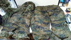 Ghost Ghillie Suit by Arcturus Camo - Includes Matching Rifle Wrap Adult Youth