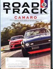 Road & Track Magazine February 2016 Camaro EX 042216jhe