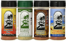 Everglades Seasoning Sampler Mesquite Cactus Dust Heat Fish Chicken 8oz  6oz