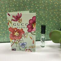 Gucci Flora Eau de Toilette EDT Perfume Spray Vial Sample .05 oz / 1.5 ml