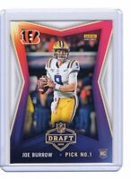 JOE BURROW 2020 Panini Instant NFL Draft Pick Number 1 Rookie Card Bengals !!!
