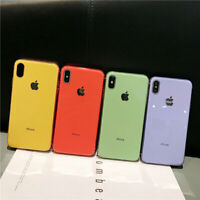 For iPhone 6s 8 7 Plus XS Max Luxury Ultrathin Plating Soft TPU Back Case Cover
