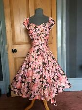 """GORGEOUS PHASE EIGHT """"ROSALIA"""" FIT AND FLARE EVENING DRESS, SIZE 10"""