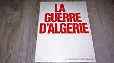LA GUERRE D' ALGERIE de gaulle miterrand dossier scenario presse cinema 1970