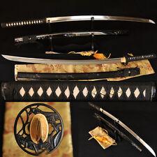 Japanese Samurai Sword Katana 1060 High Carbon Steel Locust Tsuba  Can Cut Tree