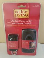 Holiday Living Outdoor Wireless Remote Control Power Switch 50ft  Range 206993