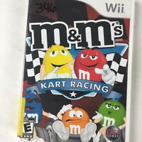 Nintendo Wii M&M's Kart Racing Video Game 2007 Complete
