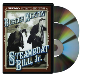 Steamboat Bill, Jr. Ultimate Edition (DVD, 2-Disc Set) NEW