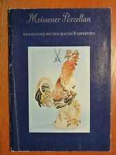 PORZELLAN - Meissen Meissener -  Weisses Gold mit den blauen Schwertern 3 (1983)