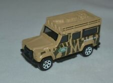 2011 MATCHBOX JUNGLE EXPLORERS LAND ROVER DEFENDER 110 LOOSE FREE SHIPPING !!