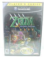 The Legend of Zelda: Four Swords Adventures (GameCube 2004) COMPLETE - Free Ship