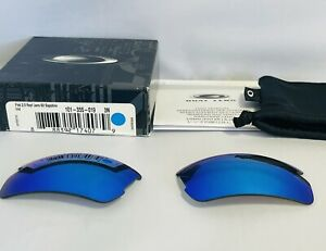 Oakley Flak 2.0 Sapphire Iridium Replacement Lens Sunglasses Authentic Original