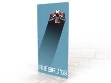 Pontiac Firebird Trans Am Tribute Garage Banner 4 x 2 1969 69 400 formula