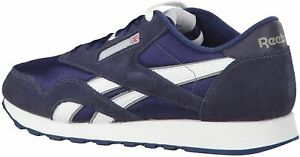 Reebok Men's Classic Nylon Sneaker 39749 Team Navy/Platinum