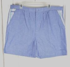 Pierre Cardin Mens XL Blue Swim Shorts Striped Accents Mesh Lining 3 Pockets R45
