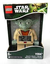 LEGO Kids 9003080 Star Wars Yoda Figurine Alarm Clock