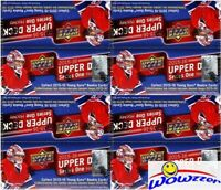 (4) 2015/16 UD Series 1 Hockey Factory Sealed 24 Pack Retail Boxes-24 Young Guns