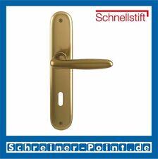 Hoppe Verona Aluminium F4 Bronzefarben Langschild 1510/273P BB Buntbart OB