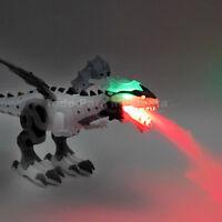 Electronic Dinosaur Walking Dragon Roaring Walking Robot Smoke Wing Kid Toy Gift
