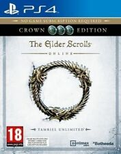 The Elder Scrolls Crown Edition (PS4) BRAND NEW SEALED PLAYSTATION 4